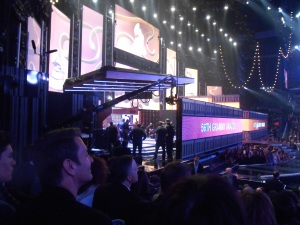 grammy set building