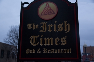irish times sign (1 of 1)