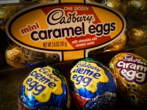 Wonderful Chocolate only available in the US at Easter time.